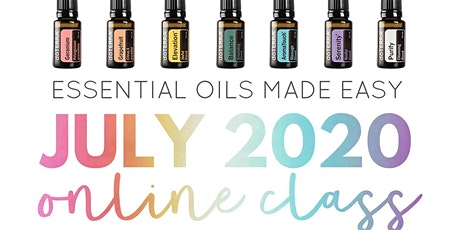 Essential Oils for Beginners- Becoming a healthier YOU Online Class tickets