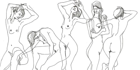 Life Drawing & Life Music (online) tickets
