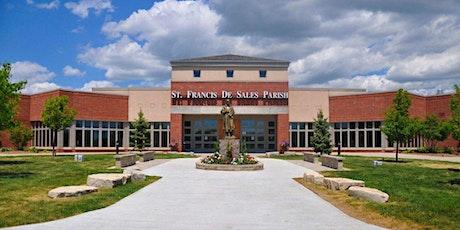 St. Francis de Sales Mass Schedule Saturday July 11, 5 PM tickets