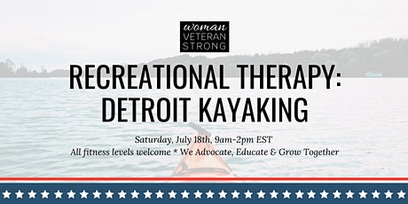Recreational Therapy: Detroit Kayaking tickets