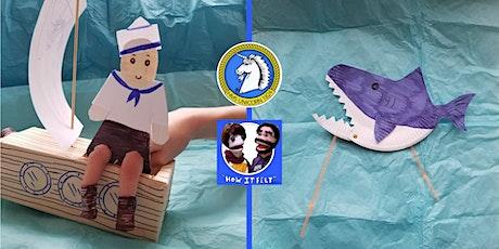 Online Puppet Making Workshop - Sailors & Pirates tickets