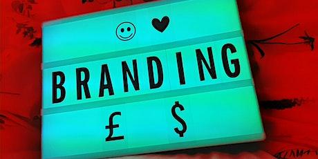 Branding & Design - Top Tips from an expert tickets