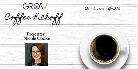 G.R.O.W. Coffee Kickoff with Nicole Cooke tickets