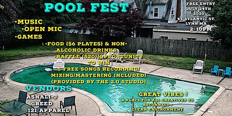 Pool Fest ! (FREE ENTRY) tickets