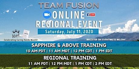Team Fusion July Online Regional tickets