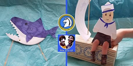 Online Puppet Making Workshop - Sharks tickets