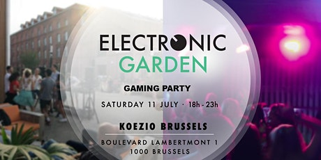 Electronic Garden occupies Koezio tickets