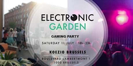 Electronic Garden occupies Koezio tickets