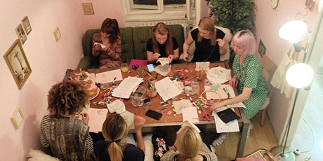 Online Illustrative Embroidery Workshop tickets