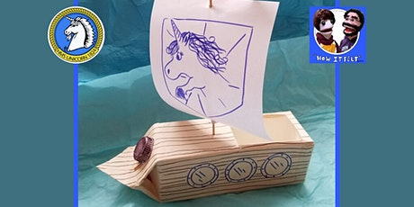 Online Puppet Making Workshop - Sailing Boats tickets