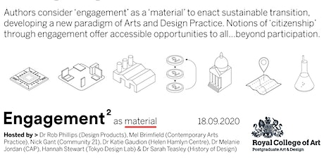 Engagement as Material Symposia tickets