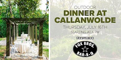 Fox Bros Bar-B-Q - Outdoor Dinner at Callanwolde tickets