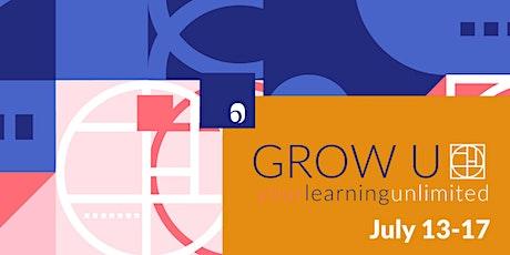 Grow-U Online starting July 13 tickets