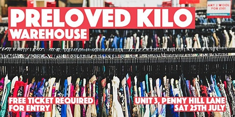 Warehouse Preloved Kilo tickets