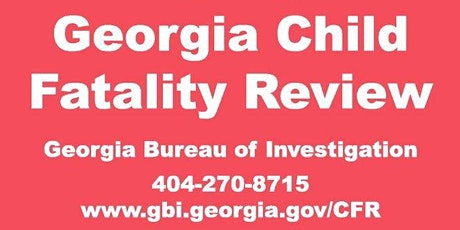 Gordon County- Child Fatality Review Committee Training tickets