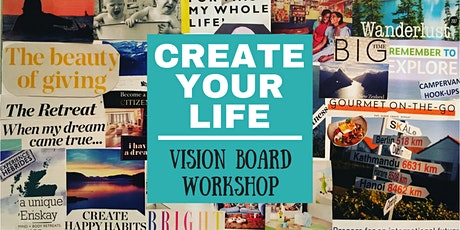 HHW Mississauga - Create Your Life - Vision Board Workshop followup tickets
