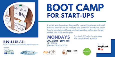 Boot Camp for Startups tickets