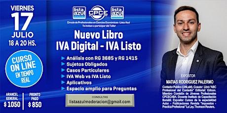 Nuevo Libro IVA Digital – IVA Listo entradas