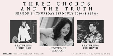 Three Chords and the Truth - with Becca Rae  and Tom Heath tickets
