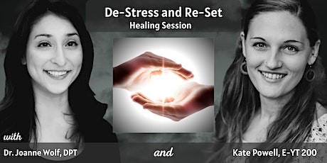 De-Stress and Re-Set  Healing Session tickets