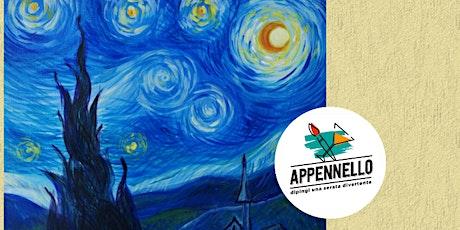 Milano: Stelle e Van Gogh, un aperitivo Appennello biglietti
