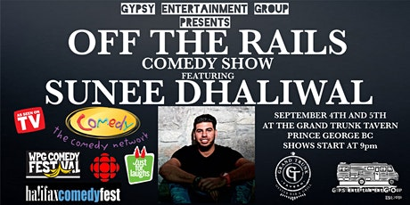 Off The Rails Comedy Show tickets