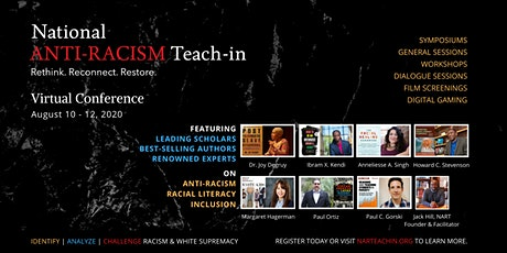 National Anti-Racism Teach-In 2020 General Conference tickets