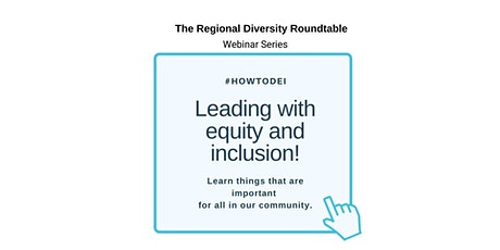Leading with equity and inclusion tickets
