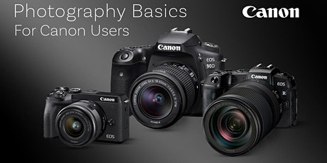 Photography Basics for Canon Users tickets