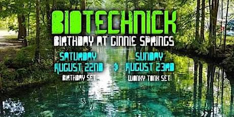 Biotechnick : Birthday At Ginnie Springs tickets