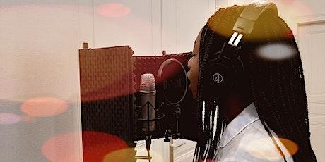 Stage Vacances d'été: Chant en studio (14  à 17 ans) billets