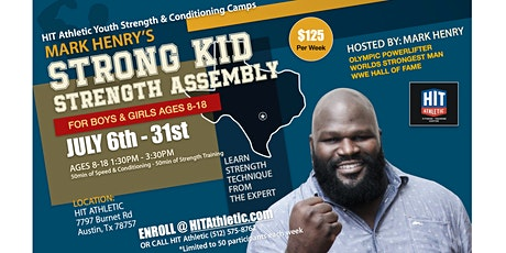 Mark Henry's Strong Kid - Strength Assembly tickets