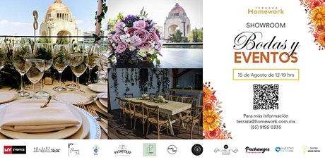 Terraza Homework Showroom: Bodas y eventos - 15 AG tickets