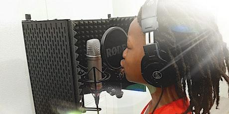 Stage Vacances d'été: Chant en studio (10 à 13 ans) billets
