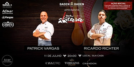 Clash of Chefs Em Casa round 5 ingressos