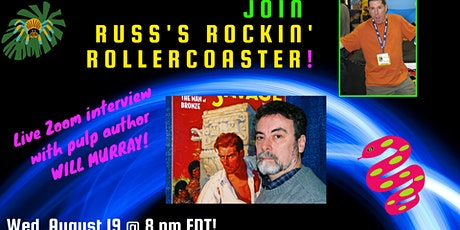 Russ Colchamiro interview with Pulp author Will Murray! tickets