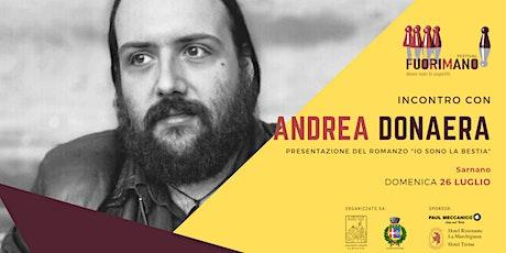 Incontro letterario con Andrea Donaera biglietti