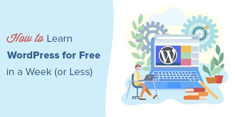 Your First Website with Wordpress Free Master Class tickets