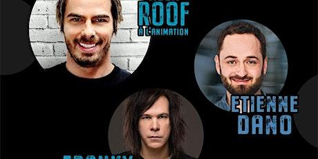Soirée d'humour animé par Alex Roof du Pub BoulZeye! tickets