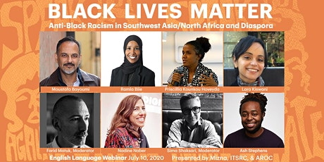 Webinar Series: Anti-Black Racism in SW Asia/N Africa + Diaspora (English) tickets