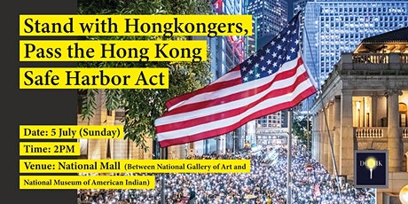 Stand with Hongkongers, Pass the Hong Kong Safe Harbor Act tickets