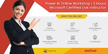 Online Power BI Workshop | 3 Hours | Live Microsoft Certified Trainer tickets