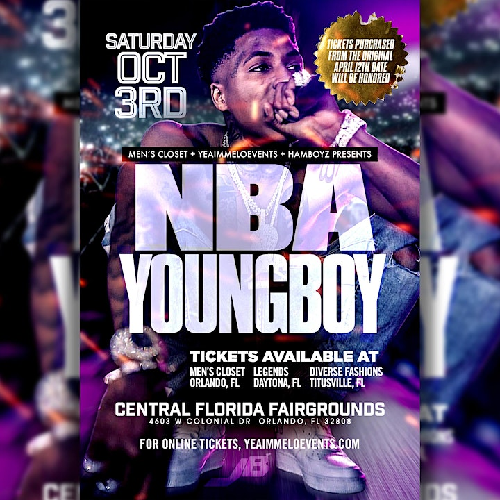 Halloween Concerts Orlando 2020 NBA Young Boy Concert Orlando Tickets, Sat, Oct 3, 2020 at 9:00 PM