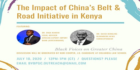 The Impact of China's Belt and Road Initiative in Kenya tickets