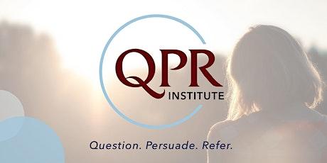QPR: Suicide Prevention Gatekeeper Training tickets