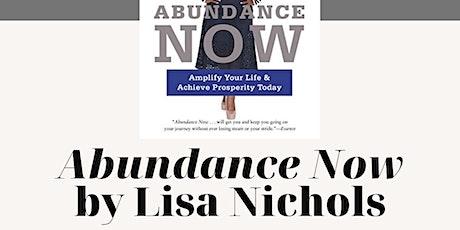 Free Book Club: Abundance Now by Lisa Nichols tickets