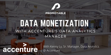Data Monetization with Accenture's Data Analytics Manager tickets