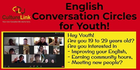 English Conversation Cirlces for Youth 19 - 29 tickets