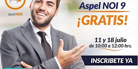 Master Aspel NOI 9 boletos