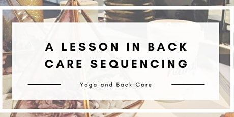 Yoga and Back Care Workshop tickets